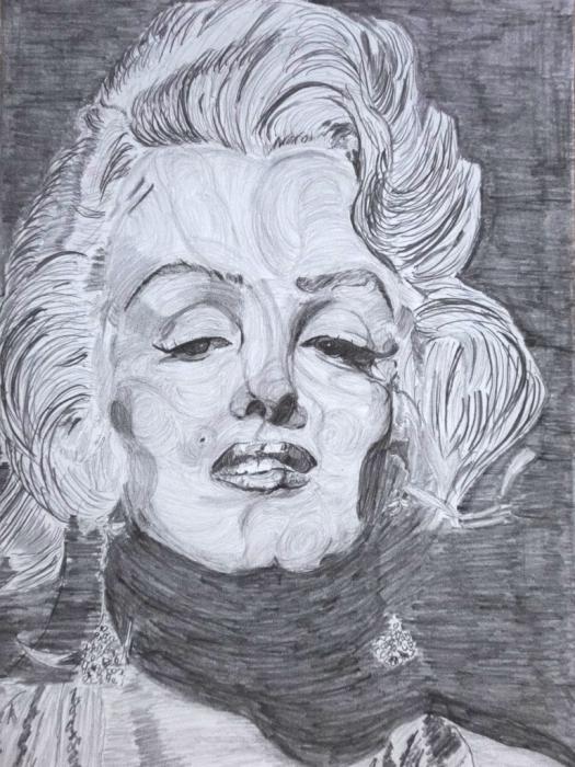 Marilyn Monroe by tksmrymds